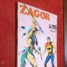Cómics: ZAGOR - BURULAN - Nº 34 LA PISTA - MUY BUENO - REPASADO SIN SORPRESAS - BURU LAN. Lote 53106633