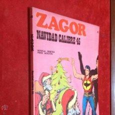 Cómics: ZAGOR - BURULAN - Nº 41 NAVIDAD CALIBRE 45 - MUY BUENO - REPASADO SIN SORPRESAS - BURU LAN. Lote 53106712
