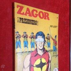 Cómics: ZAGOR - BURULAN - Nº 47 PRISIONERO - MUY BUENO - REPASADO SIN SORPRESAS - BURU LAN. Lote 53106760