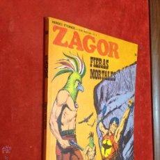 Cómics: ZAGOR - BURULAN - Nº 58 FIERAS MORTALES - MUY BUENO - REPASADO SIN SORPRESAS - BURU LAN. Lote 53110552