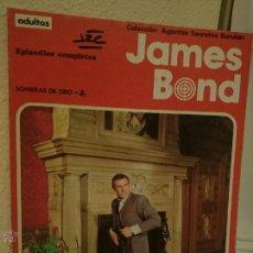 Cómics: JAMES BOND - TOMO Nº 2: SOMBRAS DE ORO - COLECCION AGENTES SECRETOS BURULAN - EPISODIOS COMPLETOS.-. Lote 53139958