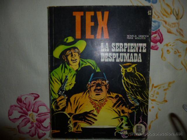 TEX Nº 43 FORMATO TACO. LA SERPIENTE DESPLUMADA. BURU LAN. (Tebeos y Comics - Buru-Lan - Tex)