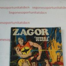 Cómics: ZAGOR - N°62 GUERRA - BURU LAN - 1973. Lote 53430217