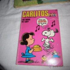 Cómics: CARLITOS Y LOS CEBOLLITAS Nº 15.LAS IDEAS DE LUCY .EDICIONES BURU LAN 1972. Lote 53434570