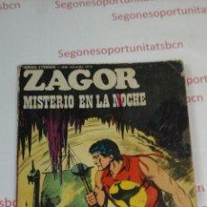 Cómics: ZAGOR - N°59- MISTERIO EN LA NOCHE. Lote 53509041