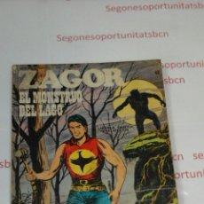 Cómics: ZAGOR - N°52- EL MONSTRUO DEL LAGO. Lote 53509519