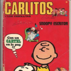 Cómics: CARLITOS Y LOS CEBOLLITAS. Nº 3. SNOOPY ESCRITOR. BURU LAN 1971. (ST/.). Lote 53515727