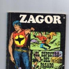Cómics: ZAGOR - Nº 49 - EL ESPECTRO DEL PASADO - BURULAN - BUEN ESTADO.. Lote 53577297