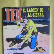 Tex nº 92. El Ladrón de la Sierra. Buru Lan. (En muy buen estado) 1973 c1