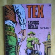 Cómics: TEX Nº 44 SANGRE NAVJA. BURU LAN C1. Lote 53730155