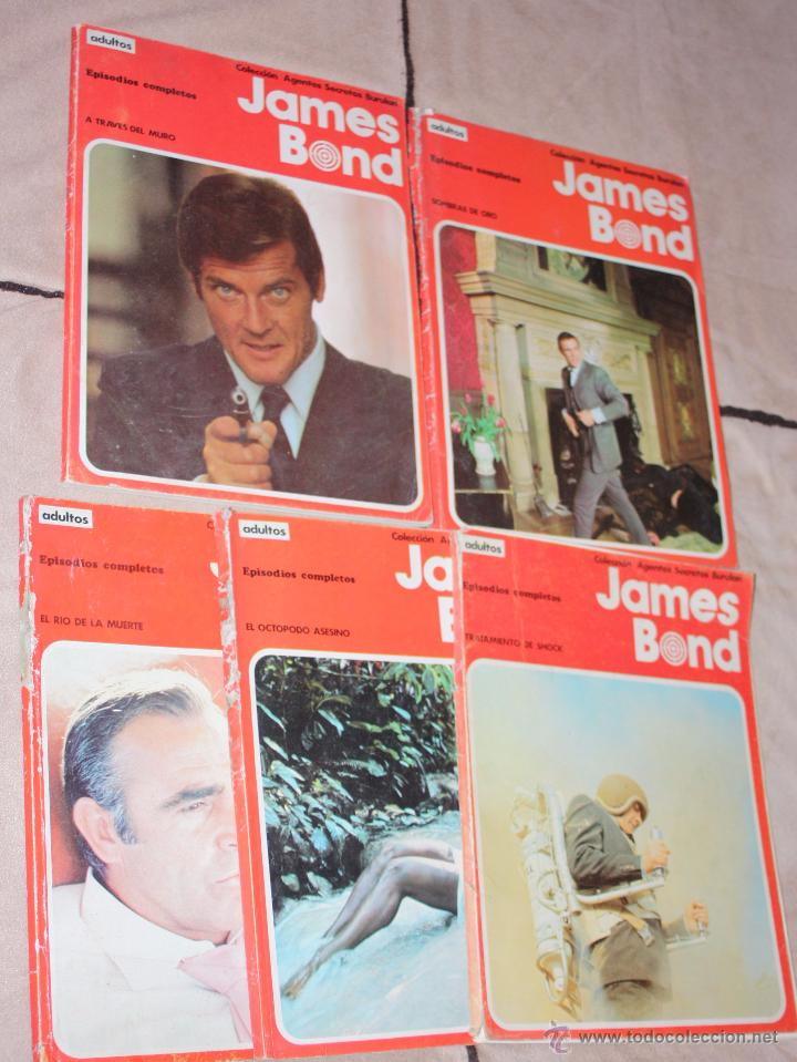 JAMES BOND. BURU LAN. COLECCION COMPLETA (Tebeos y Comics - Buru-Lan - James Bond)