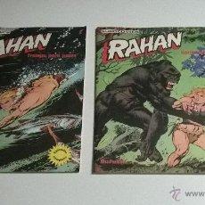 Cómics: RAHAN- LOTE NUMEROS 1 Y 2 - COLOR - AÑO 1974. Lote 53982138