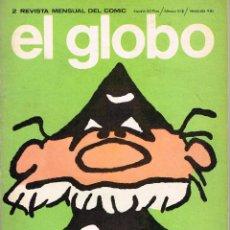 Cómics: EL GLOBO 2.REVISTA MENSUAL DEL CÓMIC.BURU LAN. Lote 54041913