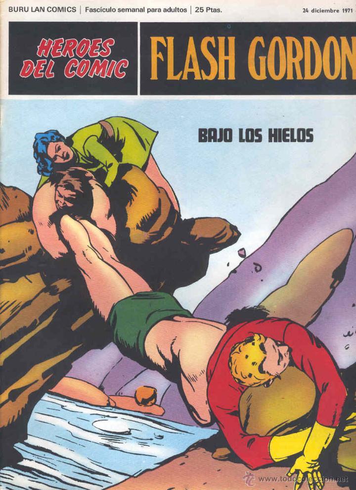 FLASH GORDON Nº 33 (Tebeos y Comics - Buru-Lan - Flash Gordon)