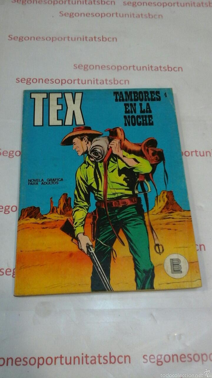 TEX - NÚMERO 4 - BURU-LAN (Tebeos y Comics - Buru-Lan - Tex)
