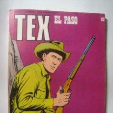 Cómics: TEX EL PASO - BONELLI - GALEP (BURU LAN, 1974, TEX Nº 80). BUEN ESTADO. ¡MUY RARO! TEX WILLER. Lote 54374494