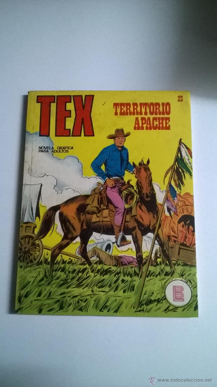 TEX Nº 23 - TERRITORIO APACHE (Tebeos y Comics - Buru-Lan - Tex)