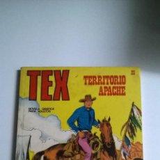 Cómics: TEX Nº 23 - TERRITORIO APACHE. Lote 54436482