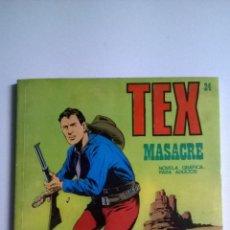 Cómics: TEX Nº 24 - MASACRE. Lote 54436491