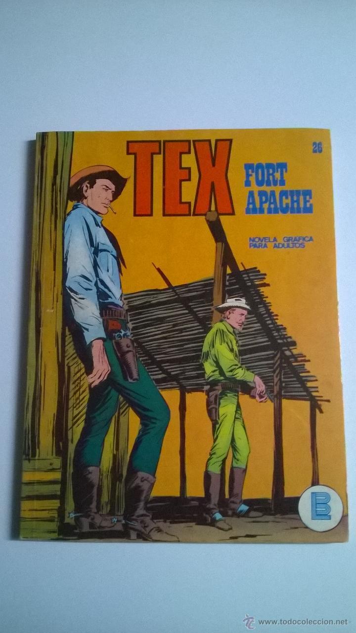 TEX Nº 26 - FORT APACHE (Tebeos y Comics - Buru-Lan - Tex)