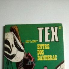 Cómics: TEX Nº 27 - ENTRE DOS BANDERAS. Lote 54436506