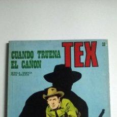 Cómics: TEX Nº 28 - CUANDO TRUENA EL CAÑON. Lote 54436519