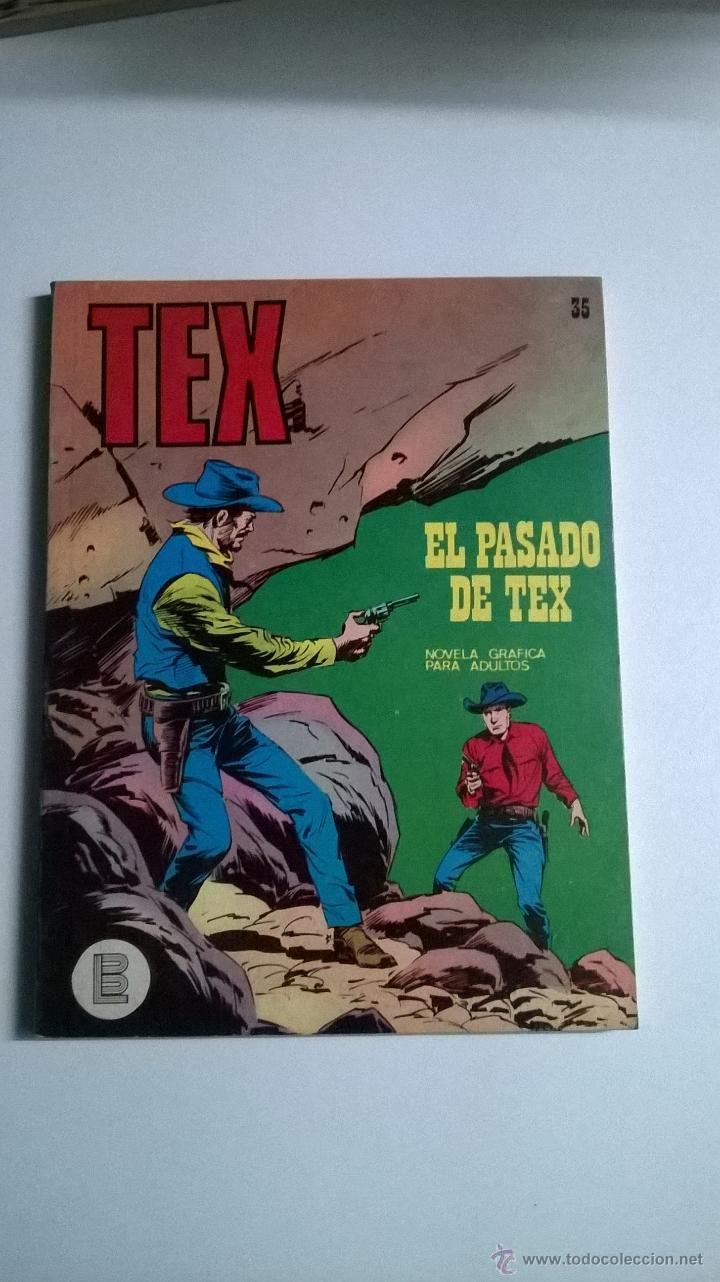 TEX Nº 35 - EL PASADO DE TEX (Tebeos y Comics - Buru-Lan - Tex)