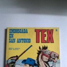 Cómics: TEX Nº 36 - EMBOSCADA EN SAN ANTONIO. Lote 54436559