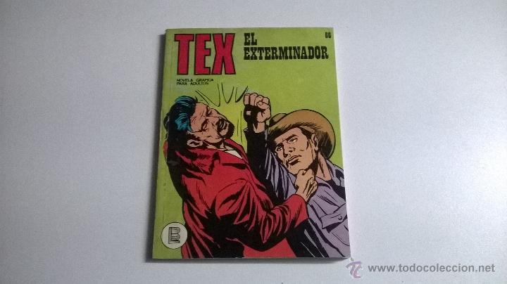 TEX Nº 66 - EL EXTERMINADOR (Tebeos y Comics - Buru-Lan - Tex)