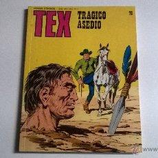 Cómics: TEX Nº 70 - TRAGICO ASEDIO. Lote 54454882