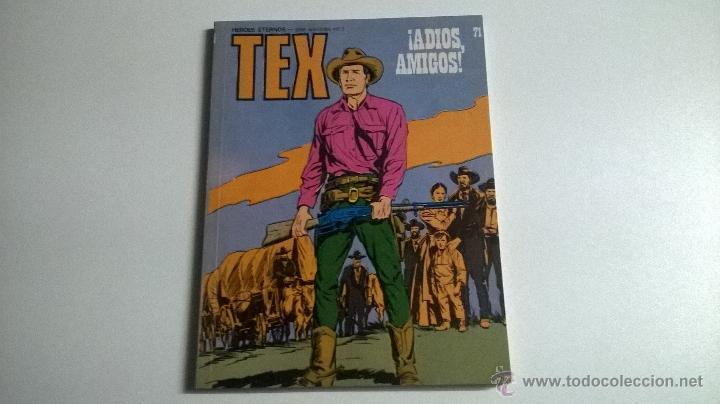 TEX Nº 71 - ¡ADIOS AMIGOS! (Tebeos y Comics - Buru-Lan - Tex)