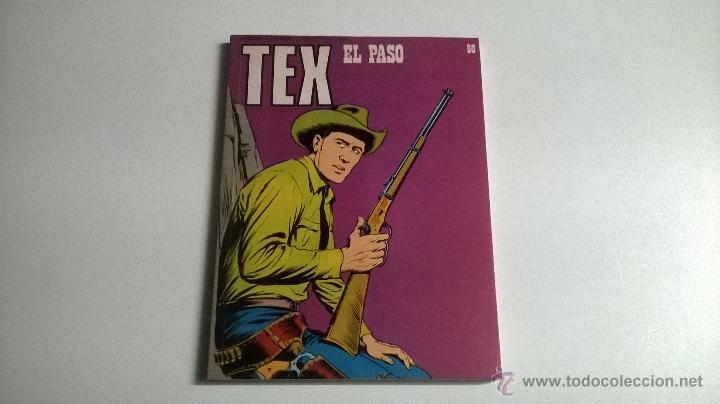 TEX Nº 80 - EL PASO (Tebeos y Comics - Buru-Lan - Tex)