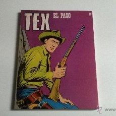 Cómics: TEX Nº 80 - EL PASO. Lote 54454994