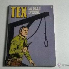 Cómics: TEX Nº 81 - LA GRAN INTRIGA. Lote 54455005