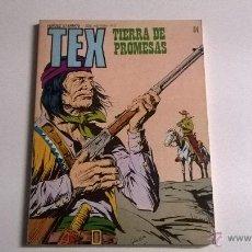 Cómics: TEX Nº 84 - TIERRA DE PROMESAS. Lote 54455040