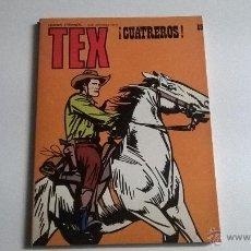 Cómics: TEX Nº 89 - ¡CUATREROS!. Lote 54455109
