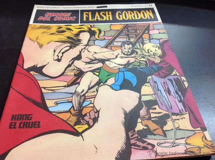 OFERTON FLASH GORDON-KANG EL CRUEL 27 (Tebeos y Comics - Buru-Lan - Flash Gordon)