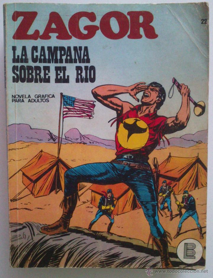 ZAGOR LA CAMPANA SOBRE EL RIO NÚMERO 22 (Tebeos y Comics - Buru-Lan - Zagor)