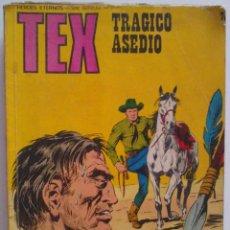 Cómics: TEX TRÁGICO ASEDIO. Lote 54504307