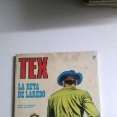 Cómics: TEX Nº 37 - LA RUTA DE LAREDO. Lote 54522983
