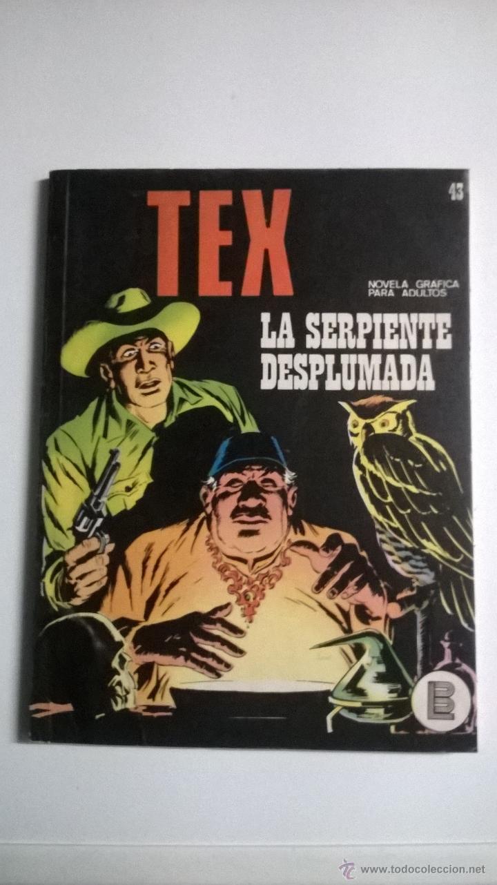 TEX Nº 43 - LA SERPIENTE DESPLUMADA (Tebeos y Comics - Buru-Lan - Tex)