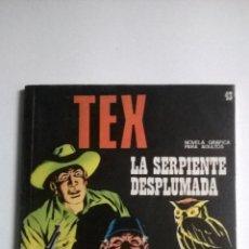 Cómics: TEX Nº 43 - LA SERPIENTE DESPLUMADA. Lote 54523120