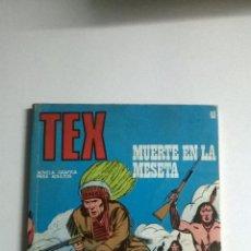 Cómics: TEX Nº 45 - MUERTE EN LA MESETA. Lote 54523167
