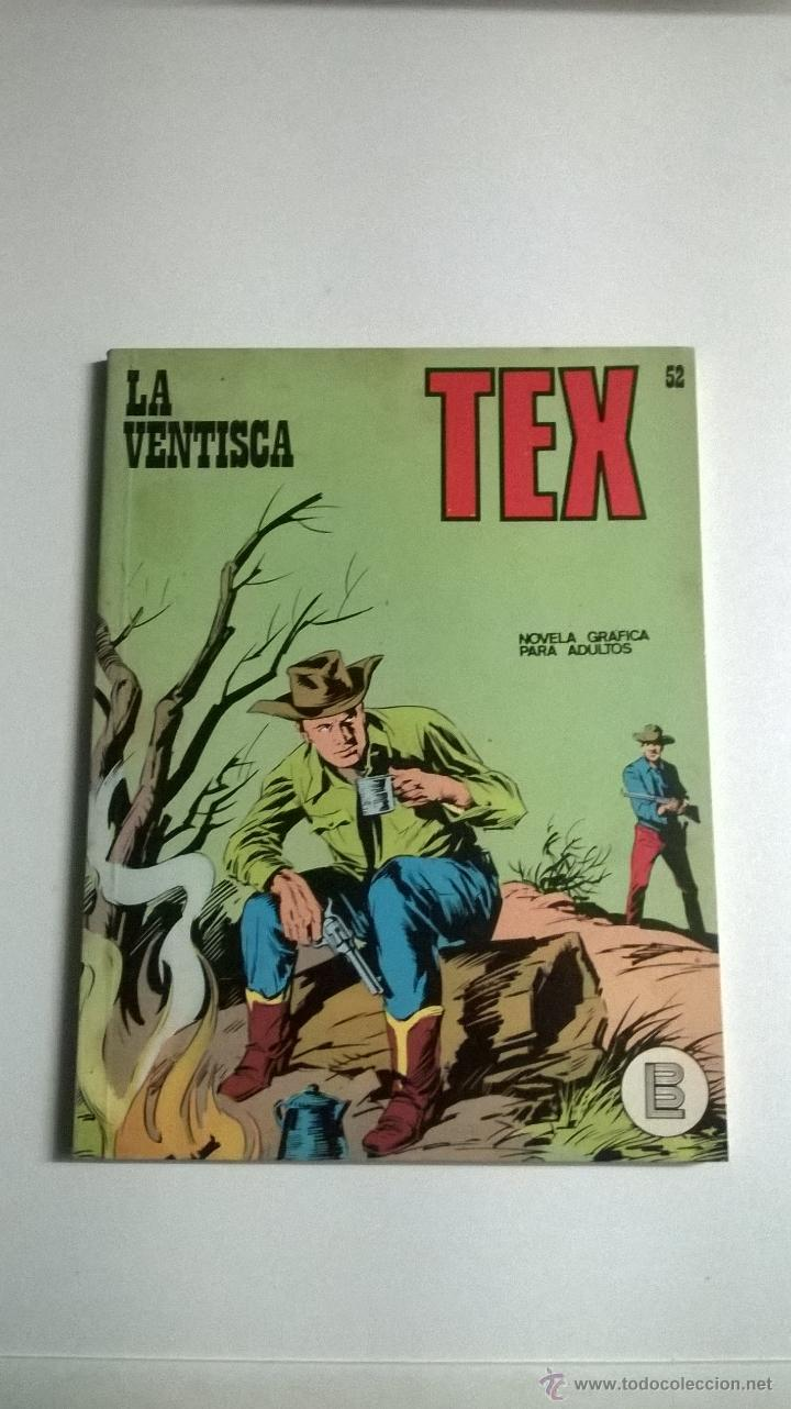 TEX Nº 52 - LA VENTISCA (Tebeos y Comics - Buru-Lan - Tex)