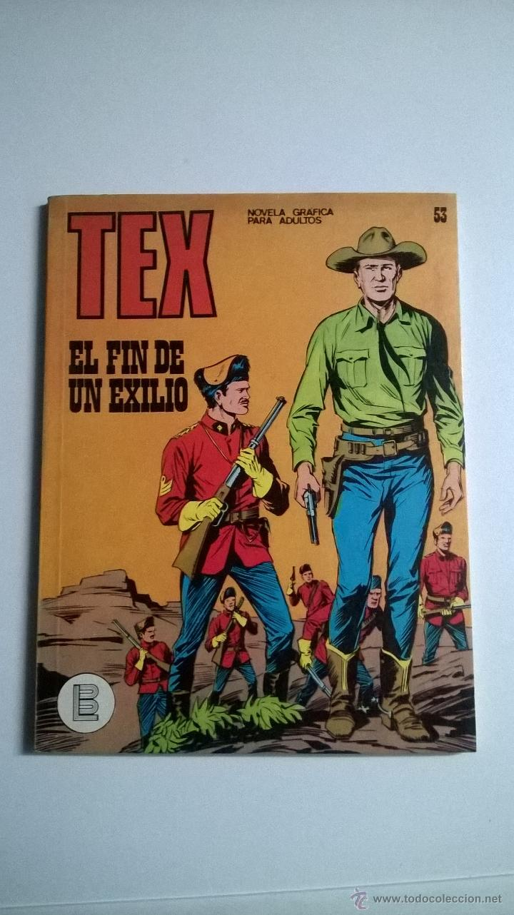 TEX Nº 53 - EL FIN DE UN EXILIO (Tebeos y Comics - Buru-Lan - Tex)