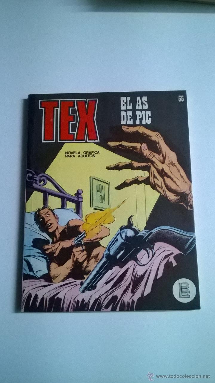 TEX Nº 55 - EL AS DE PIC (Tebeos y Comics - Buru-Lan - Tex)
