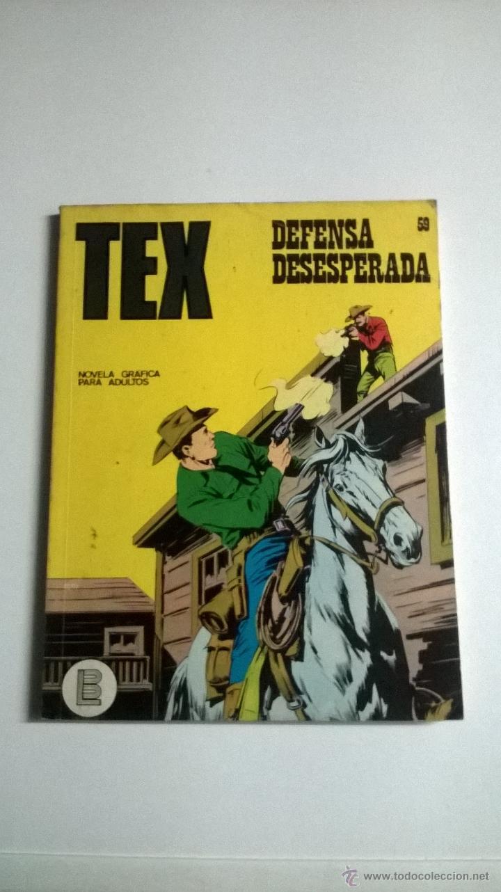 TEX Nº 59 - DEFENSA DESESPERADA (Tebeos y Comics - Buru-Lan - Tex)