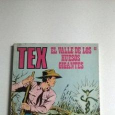 Cómics: TEX Nº 60 - EL VALLE DE LOS HUESOS GIGANTES. Lote 54523537
