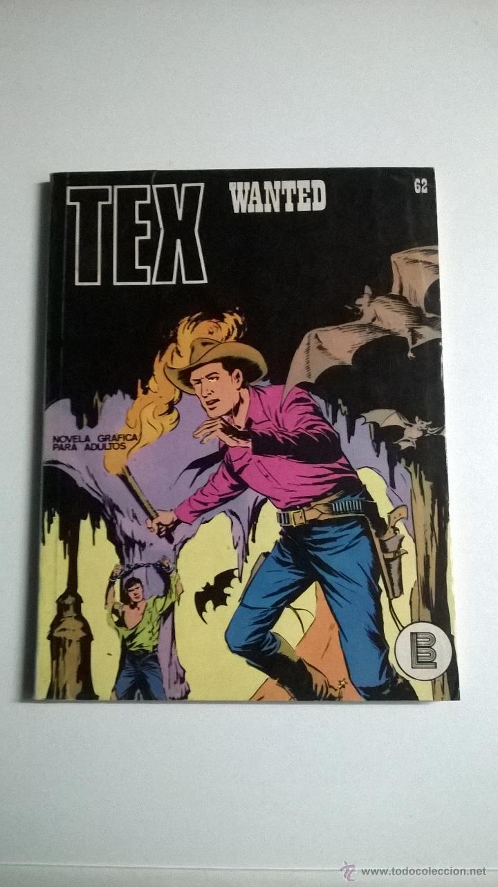 TEX Nº 62 - WANTED (Tebeos y Comics - Buru-Lan - Tex)