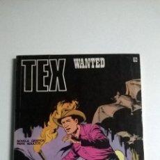 Cómics: TEX Nº 62 - WANTED. Lote 54523581
